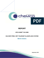 Report - Epo-chem RA 500M - Marine