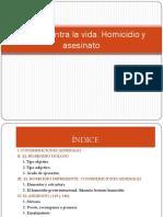 Tema 1 Homicidio y Asesinato