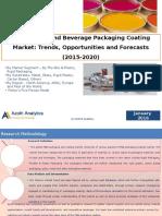 Global Food and Beverage Packaging Coating Market
