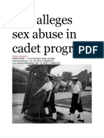 26 Jan 2004 - Suit Alleges Sex Abuse in Cadet Program
