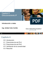R&S CCNA1 ITN Chapter8 Direccionamiento IP