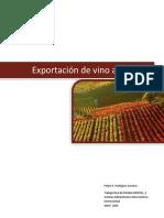 Exportacion de Vino a Filipinas