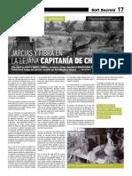 Jarcias y Fibra en la lejana Capitanía de Chile