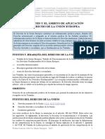 Tema 6.- Las Fuentes Del Derecho de La UE