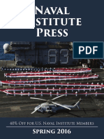 Naval Institute Press Spring 2016 Catalog