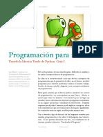 Programacion en Turtle 1