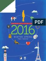 MIRA Winter-Spring Catalog 2016