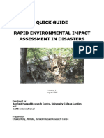 Quick Guide- Rapid Environmental Impact Assessment in Disasters