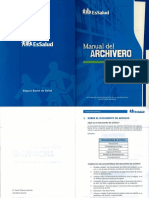 Manual del Archivero