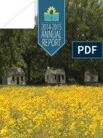 2014-2015 Annual Report of the Charleston County Park & Recreation Commission