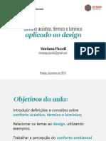 Aula Final_conforto Ambiental No Design