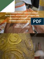 METODOLOGIA HUMAN CENTERED DESIGN, RECICLAGEM, ARTESANATO E OFICINAS