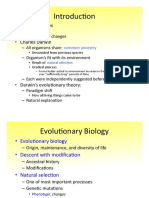 Evolution Biology Introduction