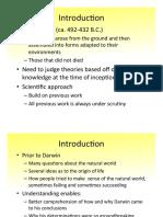 Evolutionary Biology Chapter 2 Spring 2015