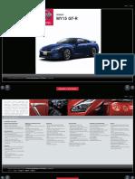 Nissan GT-R Tech Specs