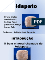 TRABALHO Feldspato Lucas Final