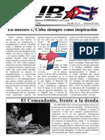 Revista Cuba+ nº15 (Editada por el grupo antiimperialista Cuba+Cadiz)