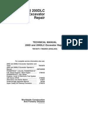 200D, 20200DLC Repair TM10079[1]     Nut (Hardware) on