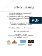 eng 2016 volunteer training