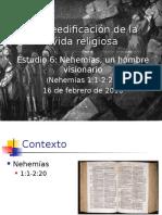 Nehemias Un Hombre Visionario.
