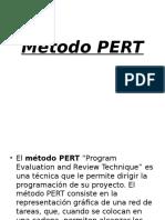 Método Pert (Programación de Obras)