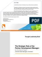 Channel Manager Brief