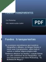 Fondos transparentes