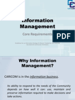E. Bryan - Information Management - Core Requirements
