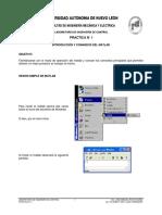 Practica 01 - Introduccion y Comandos Del MATLAB FIME-UANL