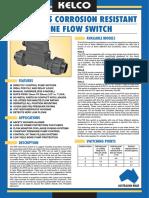 P25 Inline Flow Switch