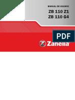 Zanella Zb 110cc g4