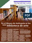 En El Museo de Antioquia Se Lee Una Biblioteca de Arte
