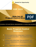 packet 3-16 - control structures