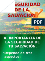 La Seguridad de La Salvación