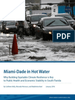 Miami-Dade in Hot Water:Why Building Equitable Climate Resilience is Key to Public Health and Economic Stability in South Florida