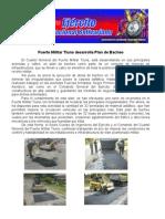 Fuerte Militar Tiuna desarrolla Plan de Bacheo