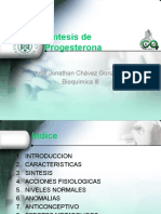 Biosíntesis de Progesterona