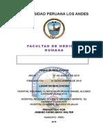 Informe Internado Medicna Erick