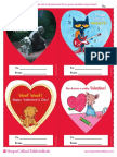 Printable Valentines from HarperCollins Children's Books