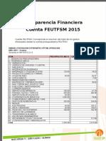 Tranparencia Cuenta FEUTFSM (Octubre-Diciembre)