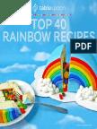 Tablespoon Top40 Rainbow Recipe Book Rev