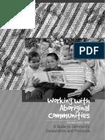 Working With Aboriginal Communities