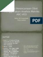 Perencanaan Obat Menggunakan Analisis Matriks ABC-VED