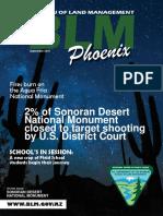 BLM Phoenix District Office - Sept 2015 newsletter