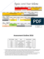 y13 course outline 2016