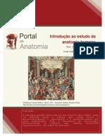 Introdução Ao Estudo Da Anatomia Humana