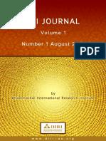 DIRI Journal 1