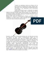 A Historia Do Violoncelo