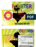 Mikrometer presentasion