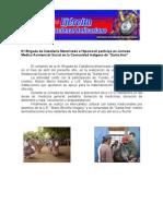 """Jornada Medico Asistencial Social en la Comunidad Indígena de """"Santa Ana"""""""